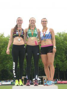 Chloé Laurant 3e du 100m haies